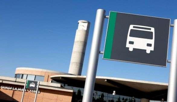 Bushaltestelle in Spanien
