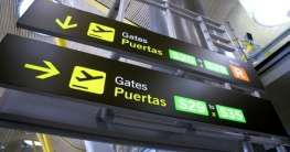 Flughafen in Spanien