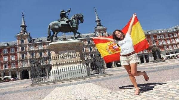Menschen in Spanien