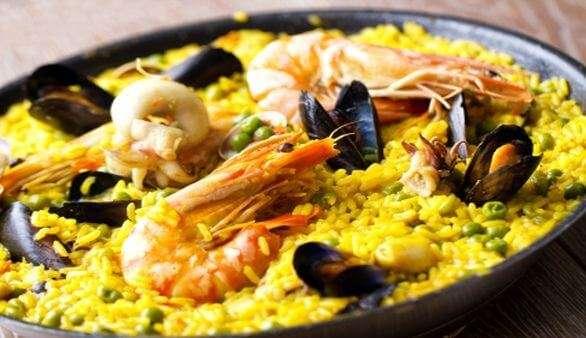 Spanische Küche | Die Paella Eine Spanische Spezialitat